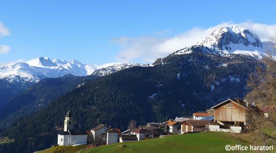 スイス・マットン山小屋の高野槙浴槽
