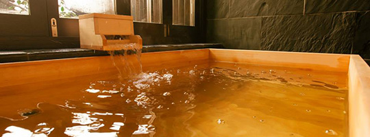 オーストラリア・バルメイン 豪寿庵の角型浴槽